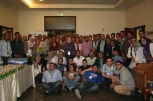 صورة جماعية لحضور فعاليات الإرشاد السريع 2